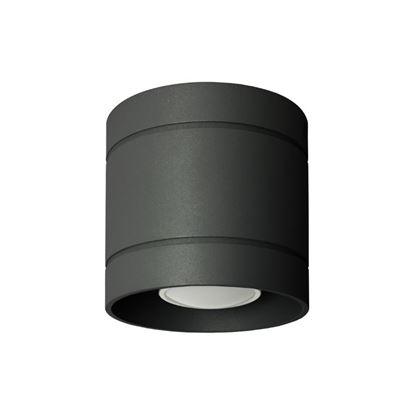 Lampa sufitowa Diego 10 czarna