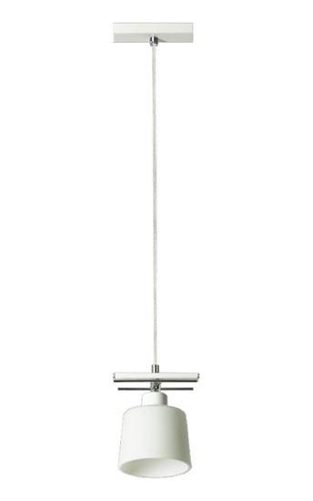 Lampa wisząca Olimp 1 biała