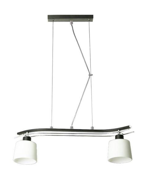 Lampa wisząca Olimp 2 czarna