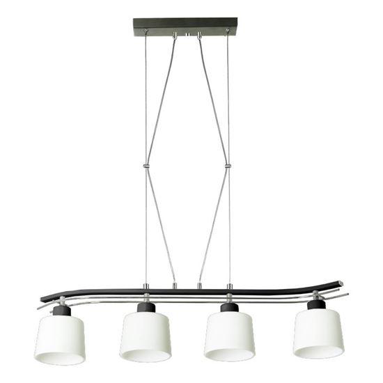 Lampa wisząca Olimp 4 czarna