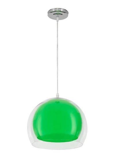Lampa wisząca Malta zielona