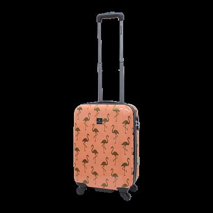 Walizka mała kabinowa SAXOLINE Golden Flamingo S