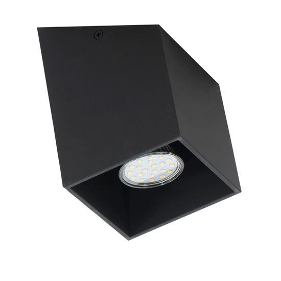 Plafon Rubik S czarny