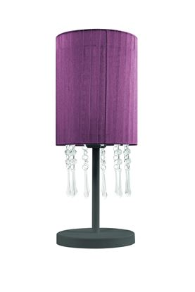 Lampa stołowa Wenecja Fiolet
