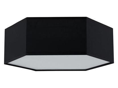 Plafon Nestor C czarny