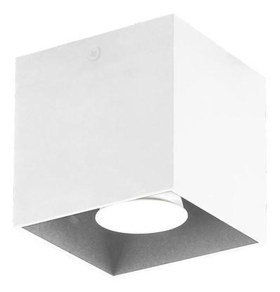 Plafon Quado biały