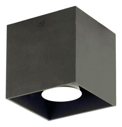 Plafon Quado czarny