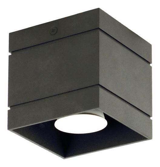 Plafon Quado DELUXE 1 czarny