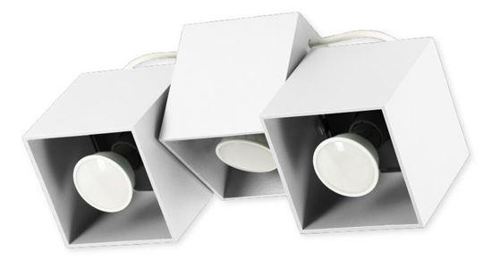Lampa sufitowa Kraft 3 biała