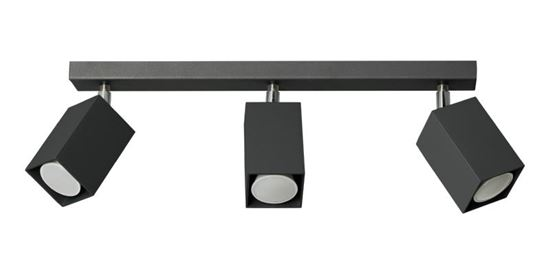 Plafon Nero 3 czarny