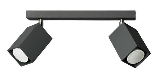 Plafon Nero 2 czarny