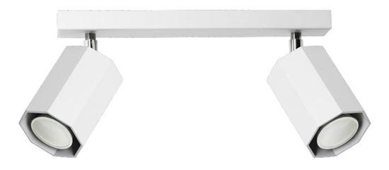 Plafon Hex 2 biały