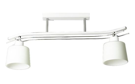 Lampa sufitowa Olimp 2 biała