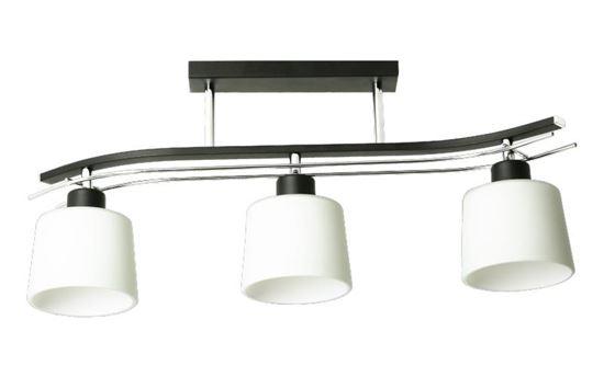 Lampa sufitowa Olimp 3 czarna