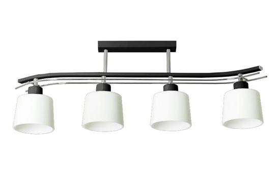 Lampa sufitowa Olimp 4 czarna
