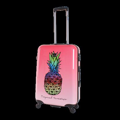 Walizka średnia SAXOLINE Gradient Pineapple M