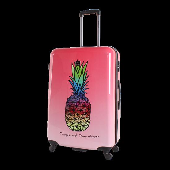 Walizka duża SAXOLINE Gradient Pineapple L