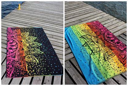 Ręcznik plażowy DALINA NEGRO