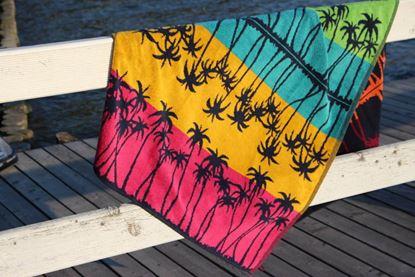 Ręcznik palżowy PALM MIRROR