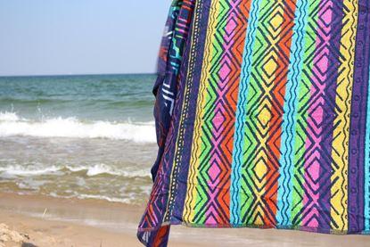 Ręcznik plażowy KAT NU fucisia