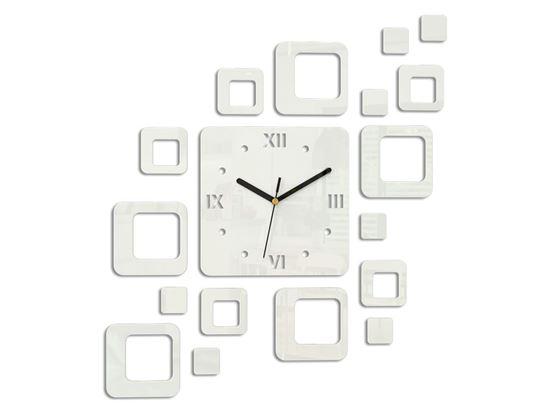 Zegar ścienny Roman biały