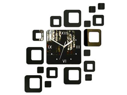 Zegar ścienny Rome wenge