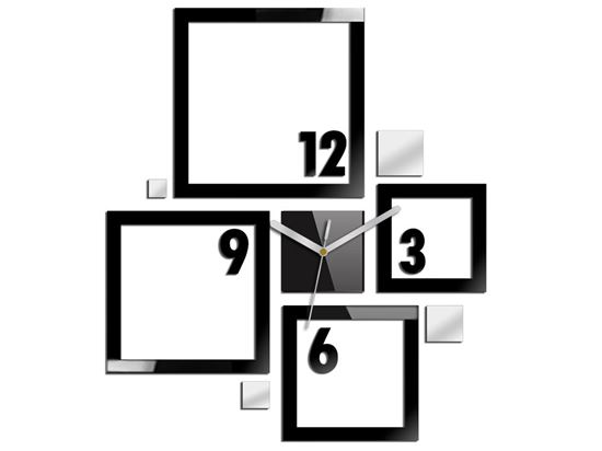 Zegar ścienny Quadrat
