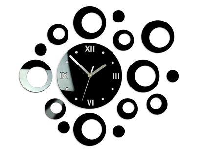 Zegar ścienny Ring Czarny