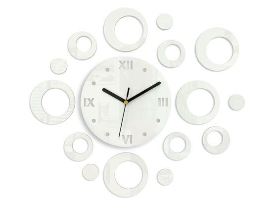 Zegar ścienny Ring Biały