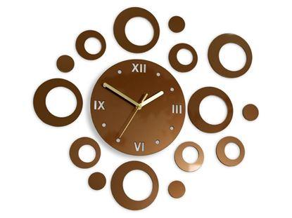 Zegar ścienny Ring Copper