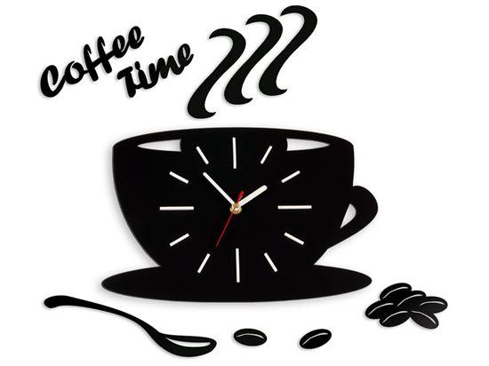 Zegar ścienny Satin CUP Biały