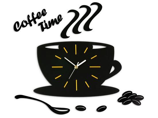 Zegar ścienny Satin CUP Żółty