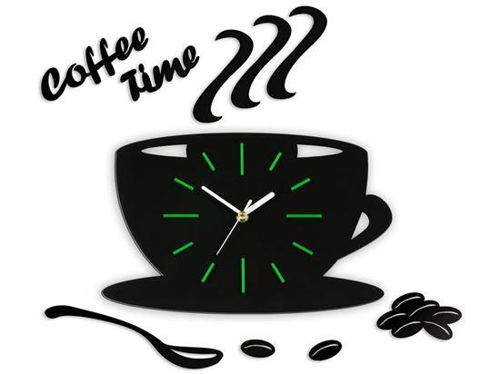 Zegar ścienny Satin CUP Zielony