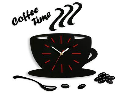 Zegar ścienny Satin CUP Czerwony