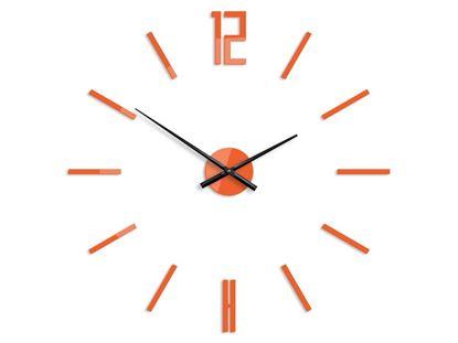 Zegar ścienny Carlo pomarańcz