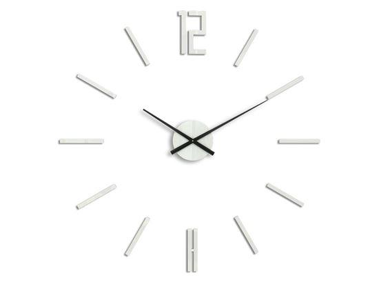 Zegar ścienny Carlo Biały