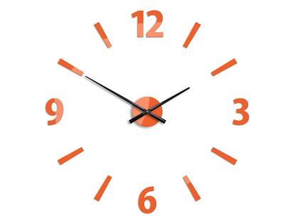 Zegar ścienny Klaus Pomarańczowy