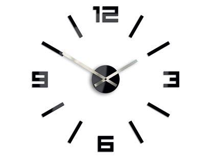 Zegar ścienny Arabic Czarny
