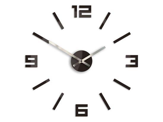 Zegar ścienny Arabic Wenge