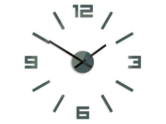 Zegar ścienny Arabic Szary