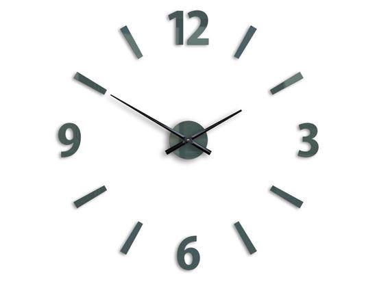Zegar ścienny Klaus Szary