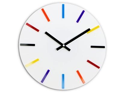 Zegar ścienny Colorfull White