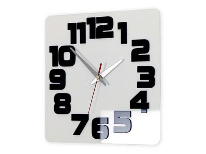 Zegar ścienny Logic Biało&Czarny