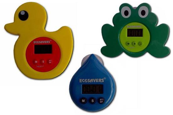 EcoSavers Showertimer - elektroniczny timer kąpielowy. Eko - edukacja!