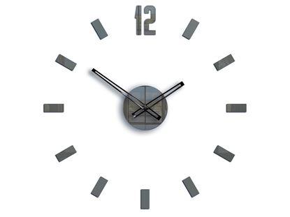 Zegar ścienny POINT Szary