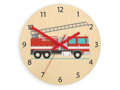 Zegar ścienny Straż pożarna