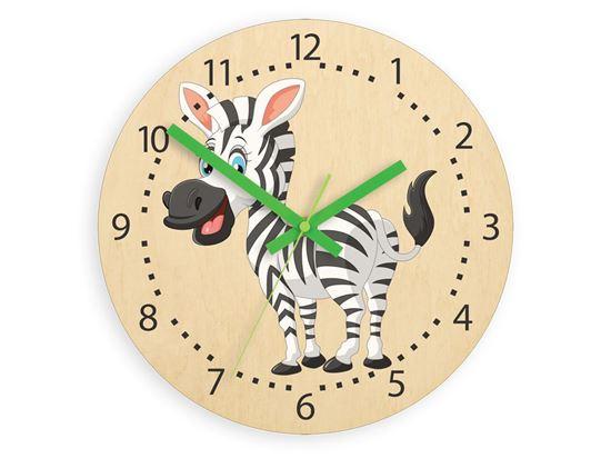 Zegar scienny Zebra