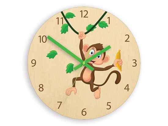 Zegar scienny Małpka