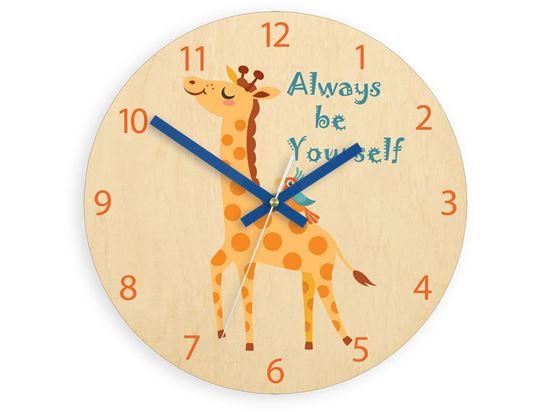 Zegar ścienny Zyrafa