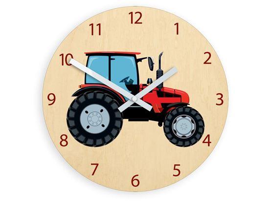 Zegar scienny Traktor